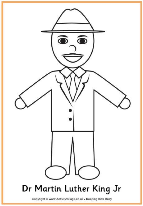 coloring pages dr martin luther king 84 best images about toddler crafts on pinterest colored