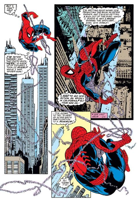 spider man by david michelinie remembrance of comics past amazing spider man 306
