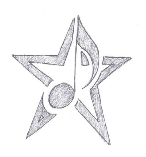 music notes with stars tattoo designs note by dumaii on deviantart