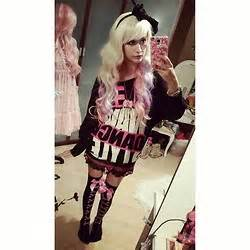 Neko Pinku Necklace saica glitter flower crown asianfashionkawaii top lindex fishnetstockings bodyline pannier