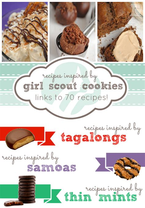 Links From Valentines Treats To Samoas by 16 Something Swanky Recipes Inspired By Scout Cookies