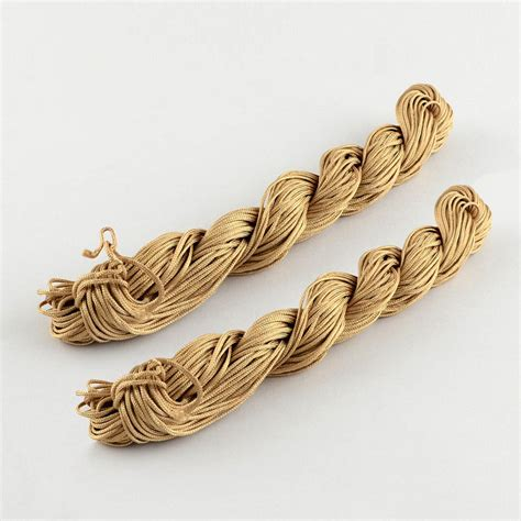 Macrame Braided Cord - 1roll braided braiding cord thread diy kumihimo