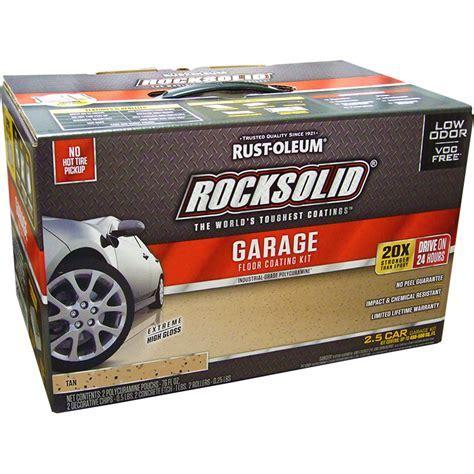Rust Oleum 293515 RockSolid Polycuramine Garage Floor