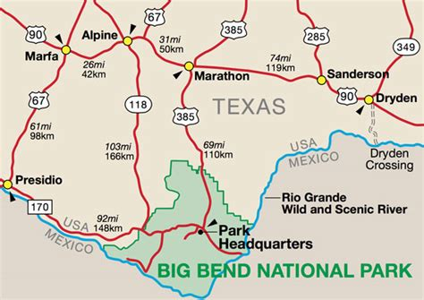 marathon texas map big bend