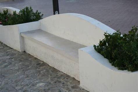 panchine in muratura realizzare una panchina in muratura muri e muratura