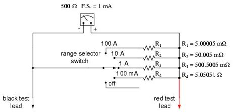 lessons in electric circuits volume i dc chapter 16 shunt resistor