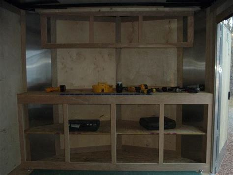 How To Build Rv Cabinets by Trailer On Trailers Cargo Trailer Cer And