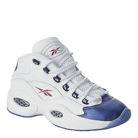 reebok question basketball shoes buy reebok question mid white athletic basketball