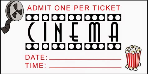 free printable movie tickets my blog