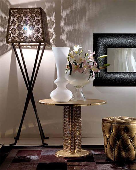 swarovski home decor swarovski studded giotto metal coffee table from fiorentino home