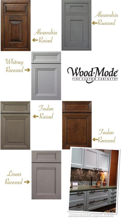 wood mode kitchen cabinet doors wood mode adds four new door styles custom kitchen cabinets