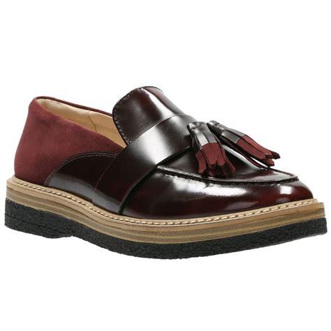 womens tassel loafers clarks zante womens tassel loafer from