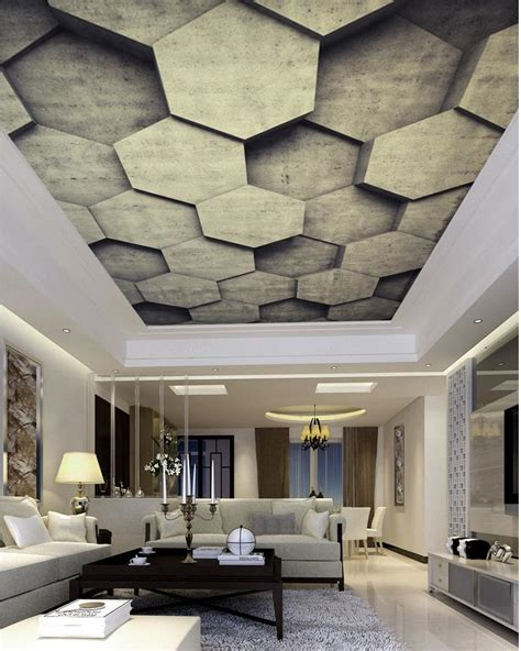 3d Wallpaper Ceiling 13314964 1 custom photo wallpaper large 3d stereo ceilings fashion perspective ceiling 3d