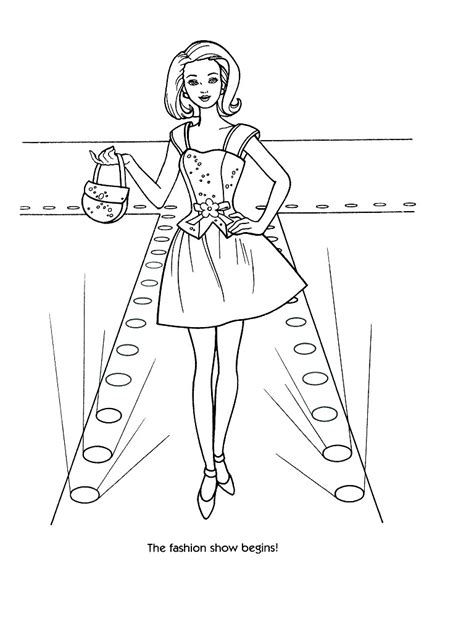 coloring pages of barbie clothes barbie fashion coloring pages 42 reference photos for