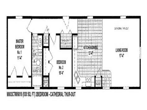 wide mobile home floor plans single wide mobile