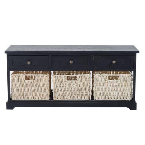 3 basket storage bench homcom 40 quot 3 drawer 3 basket storage bench antique black