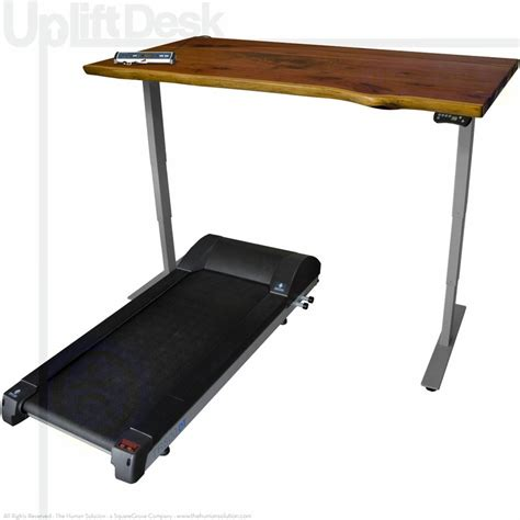 Uplift Treadmill Desk by Shop Uplift Solid Wood Treadmill Desks Sit Stand Walk