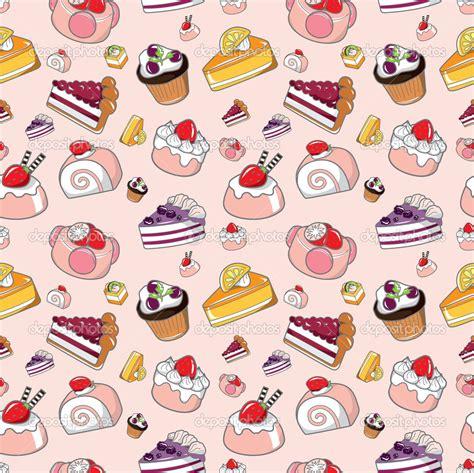 cute cartoon pattern cute food patterns tumblr