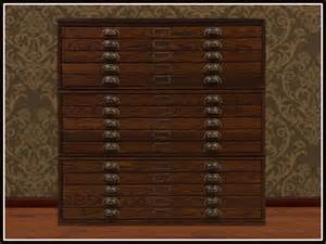 Used Metal Cabinets For Sale Second Life Marketplace Re Old Wood Map Chest One Prim