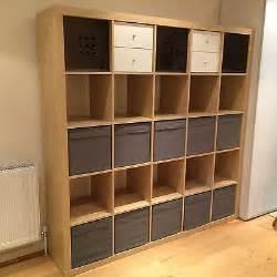 ikea large shelving unit ikea expedit kallax large shelving unit bookcase birch