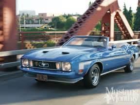 1973 Ford Mustang Convertible Mump 1208 02 1973 Ford Mustang Convertible Photo