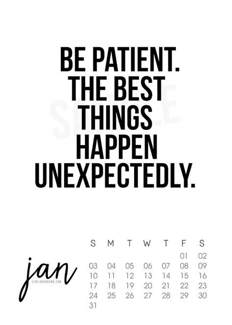 printable quote calendar 2016 january 2016 printable calendar live laugh rowe
