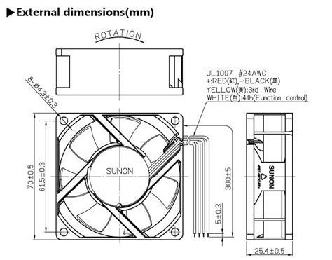 temperature controlled exhaust fan temperature controlled exhaust fan 70x70x25mm psd1207ptb1