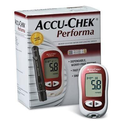 qoo10 roche accu chek 174 performa nano blood glucose meter system diabetic s household