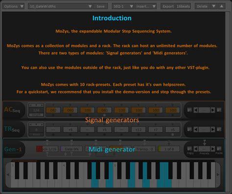 software design pattern plugin kvr mozys by nassen software development step sequencer