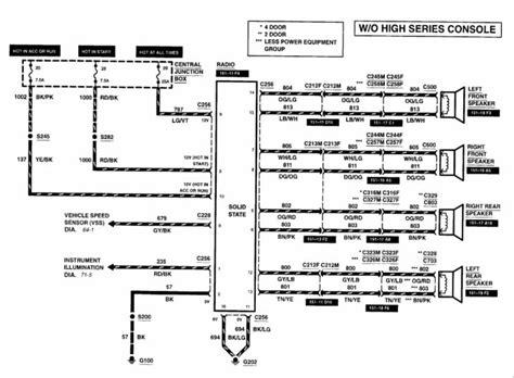 2002 ford explorer radio wiring diagram wiring diagram