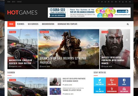 templates blogger for games hot games gaming blogger template blogspot templates 2018