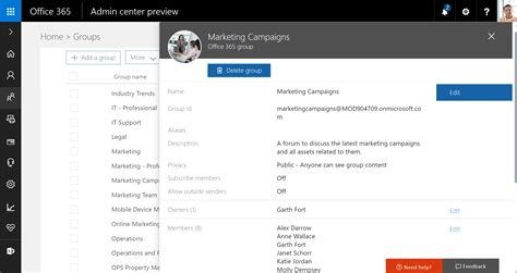 Office Yammer Yammer と Office 365 グループの統合によるチームの共同作業の強化 Office Blogs