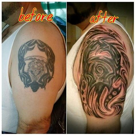 tribal tattoo fixes 31 best images about coverup fixer tattoos by marz