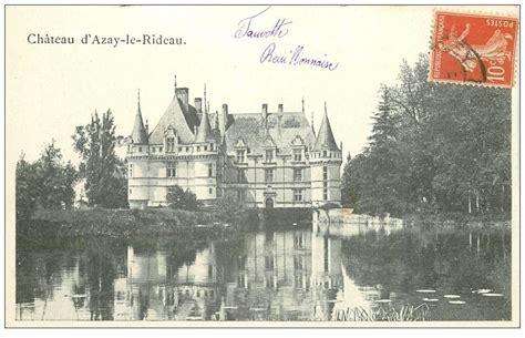 Poste Azay Le Rideau by 37 Azay Le Rideau Ch 226 Teau
