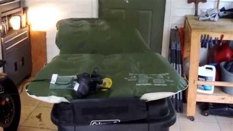 air mattress pump ozark trail  air pump review