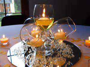 Wine Glasses For Centerpieces by 50 And Fabulous Surprise Party Decor Party Poppers