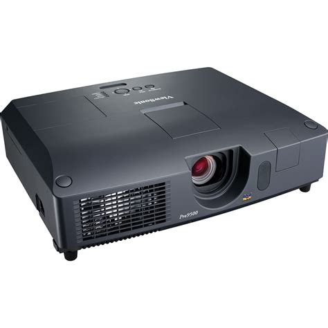 viewsonic pro9500 lcd projector pro9500 b h photo