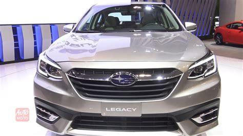 Subaru Legacy 2020 Interior by 2020 Subaru Legacy Awd Exterior And Interior Walkaround