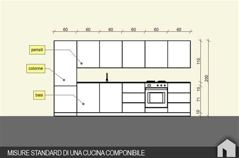 misure pensili cucina come progettare una cucina componibile architetto digitale