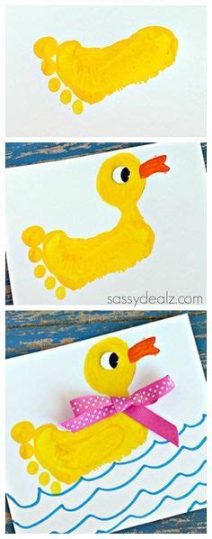 rubber sts arts and crafts duck crafts footprint and crafts for on