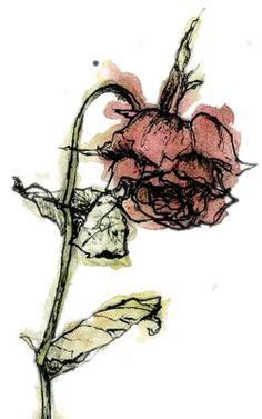 wilted rose tattoo pin by mae on artwork and diy