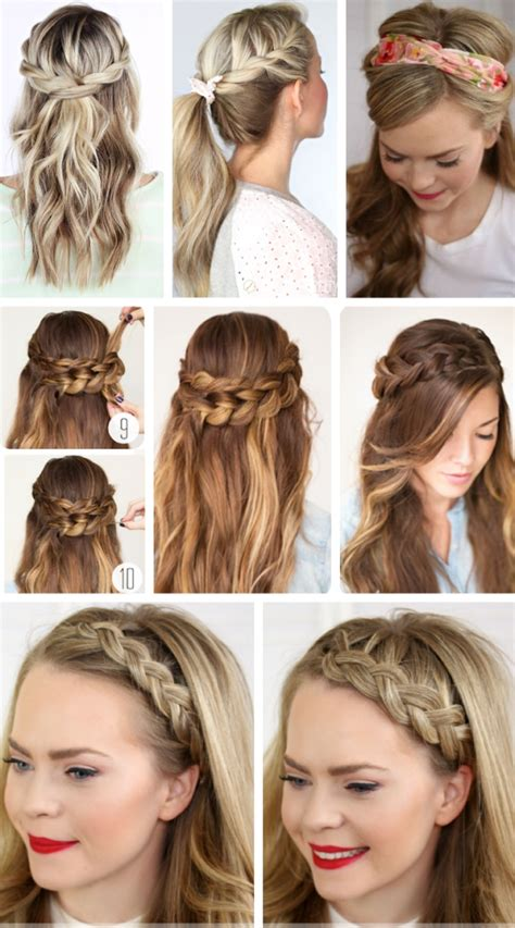 Easy To Make Hairstyles For Party | party hairstyles for long hair using step by step for 2017