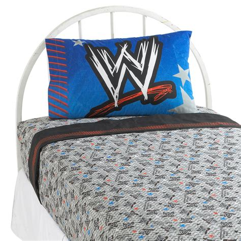 wwe comforter set wwe ringside sheet set home bed bath bedding sheets