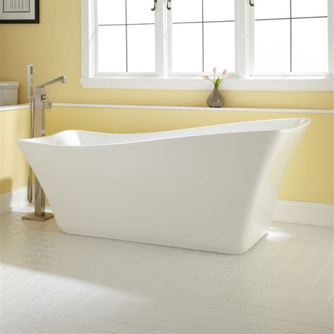 68 quot amick acrylic slipper tub bathroom