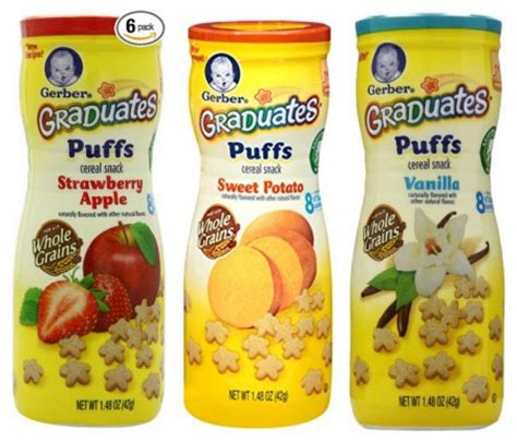 Gerber Graduates Puff By Susupedia new gerber graduates earth s best coupons frugal living nw