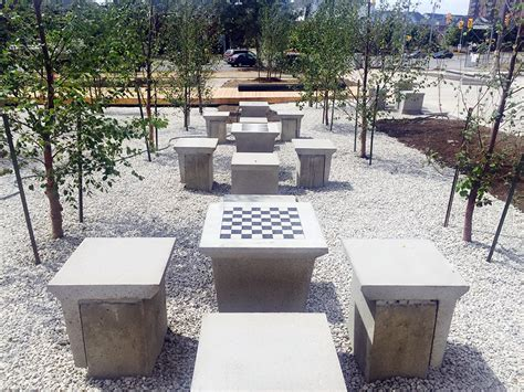 precast concrete benches it s in the game national precast concrete association