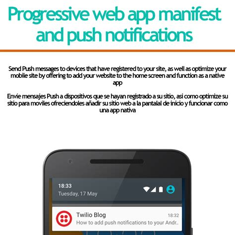 Progressive Web App And Push Notifications By Shacker Codecanyon Progressive Web App Template