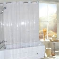 non vinyl shower curtain super clear eva non toxic vinyl ez on hookless 174 shower