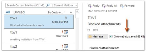 Office 365 Outlook Blocking Attachments How To Access Blocked Attachments In Outlook