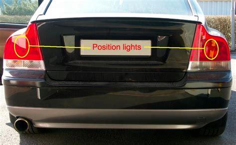 bulb failure position light volvo s60 volvo s60 position light decoratingspecial com